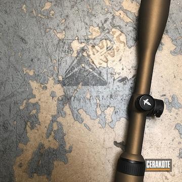 Cerakoted Burnt Bronze Swarovski Scope