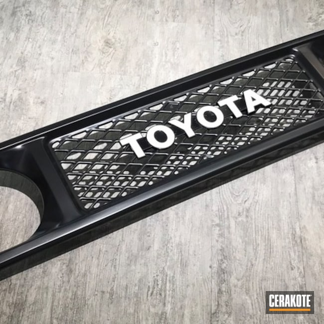 Cerakoted: BLACKOUT E-100,More Than Guns,Automotive,Automotive Grille,Toyota