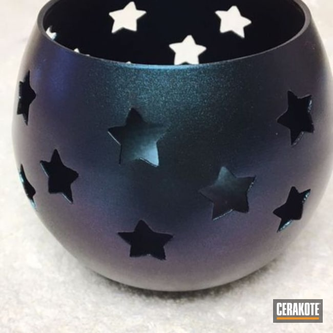 Cerakoted Candle Holder