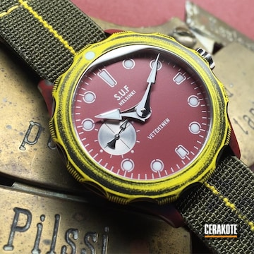 Cerakoted Sarpaneva Watch Cerakoted With H-167, H-190 And H-168