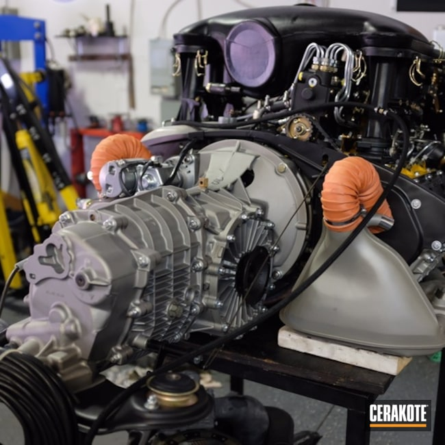 Custom Engine Build with Cerakoted Parts