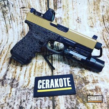 Cerakoted Glock 19 Cerakoted With E-110 And E-190