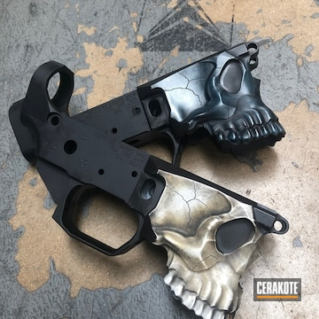 Cerakoted Cerakoted Spike's Tactical Lower Receivers