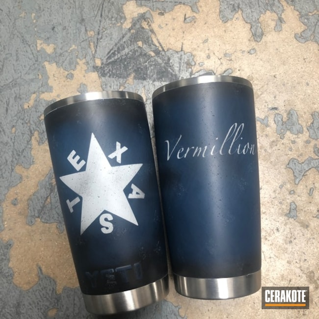 Texas Themed YETI Cup
