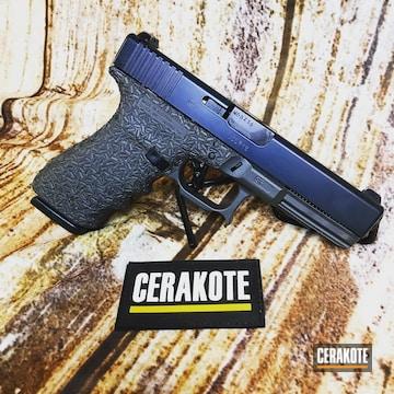 Cerakoted Custom Glock 21sf With Cerakote E-120 And E-110