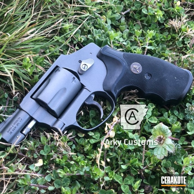 Smaller version of the 1st project picture. Smith & Wesson, Revolver, Tactical Grey H-227Q