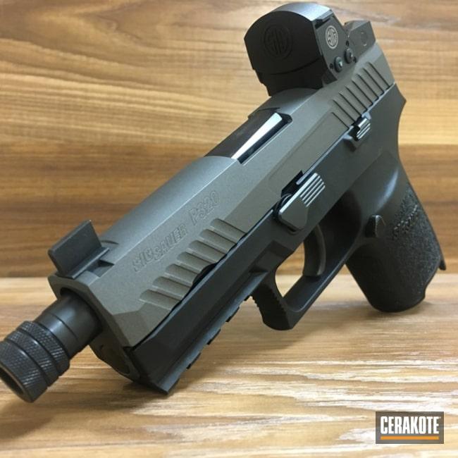 Cerakoted: Tungsten H-237,Pistol,Sig Sauer,Sig Sauer P320 RX