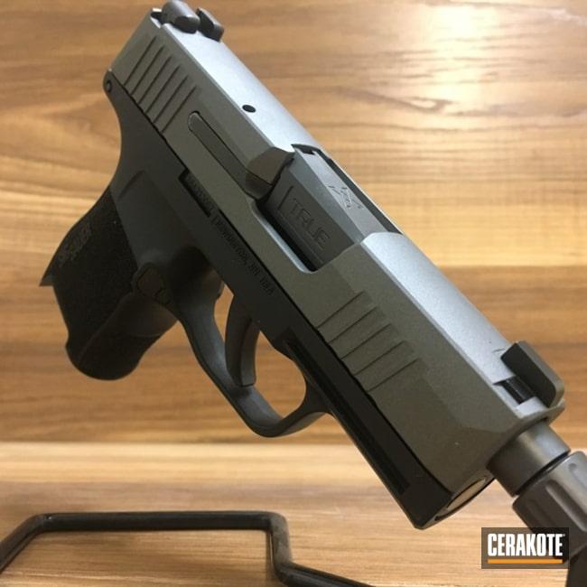Cerakoted: Sig Sauer P365,Tungsten H-237,Pistol,Sig Sauer