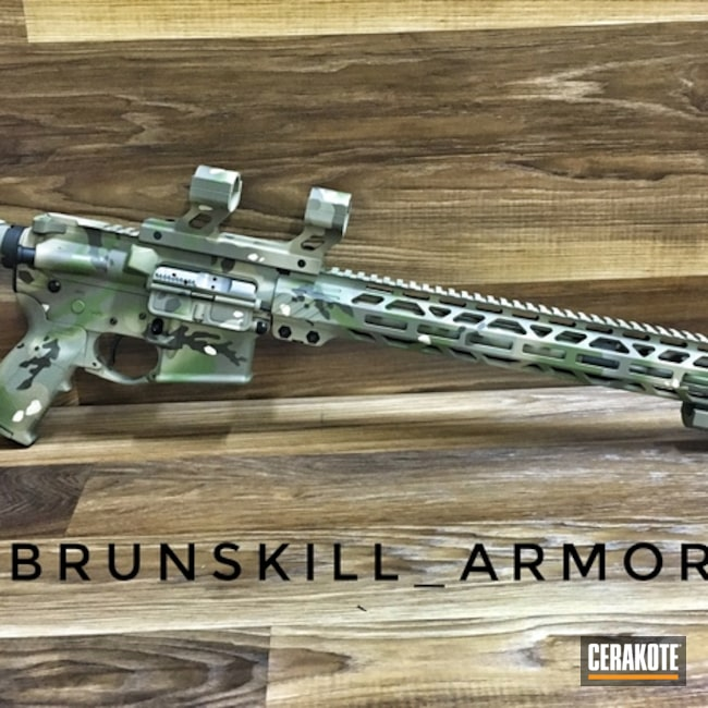 Rock River Arms Rifle and Cerakote MultiCam