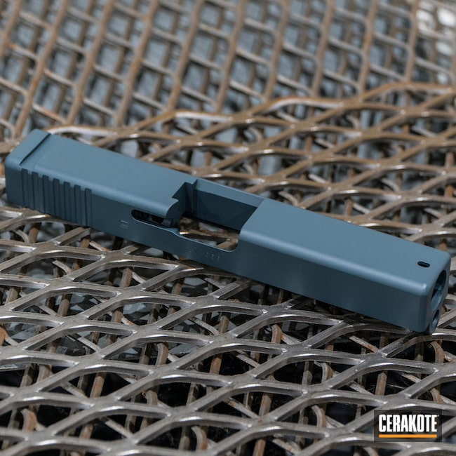 Glock Slide and H-402 Jesse James Cold War Grey