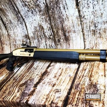 Cerakoted Mosberg 930spx Shotgun And Cerakote E-190 20150