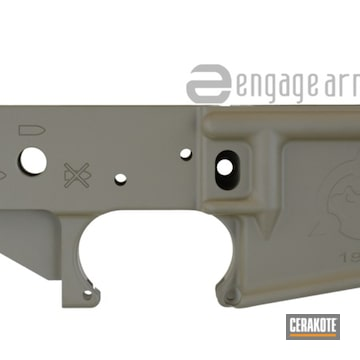 Cerakoted Ar Lower With Cerakote Flat Dark Earth