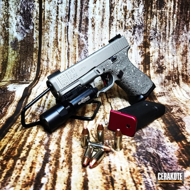 Glock 19 Cerakoted with H-170 and H-146