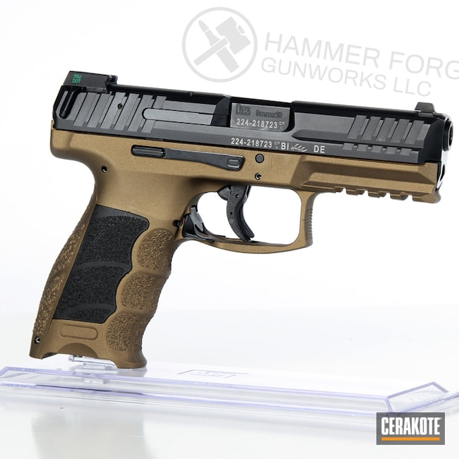 HKVP9 Frame in H-148 Burnt Bronze