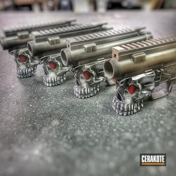 Cerakoted Custom Spike's Tactical Upper / Lower Receivers