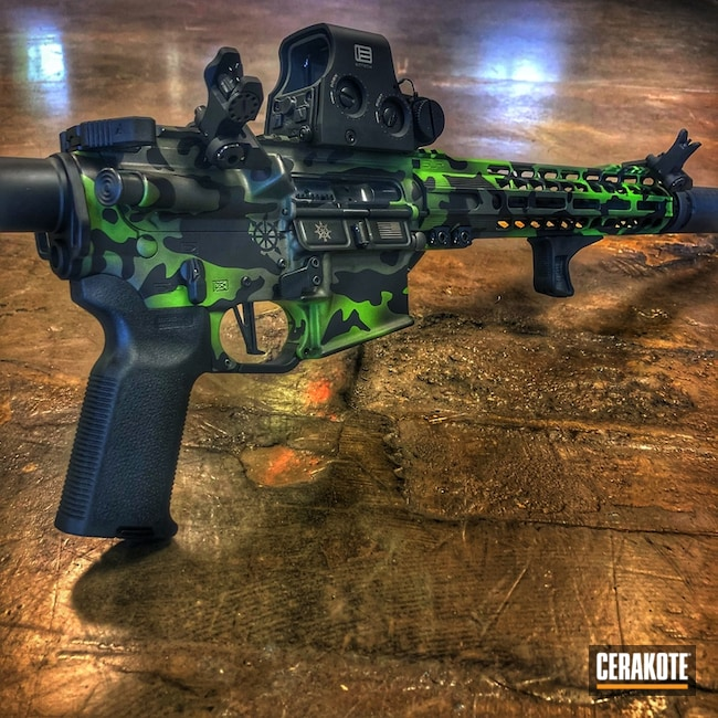 H-190 Armor Black, H-168 Zombie Green and H-237 Tungsten