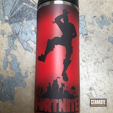 Cerakoted Video Game Themed Yeti Tumbler