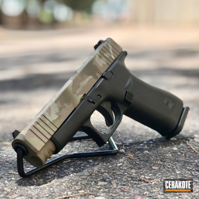 Glock 48 and Cerakote MultiCam
