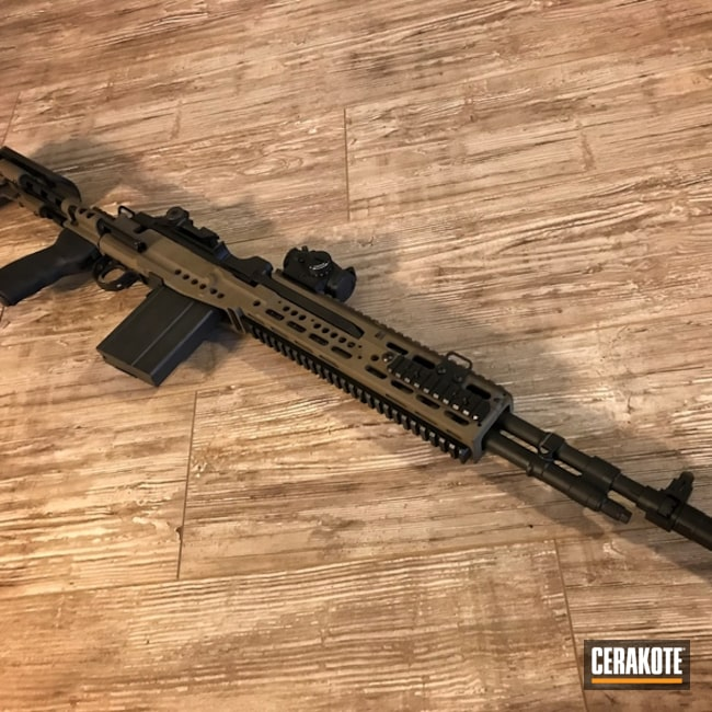 "Thumbnail image for project ""H-146 Graphite Black and H-305 Springfield FDE"""