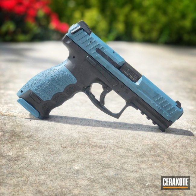 "Thumbnail image for project ""Two Toned HKVP9 Tactical Handgun"""