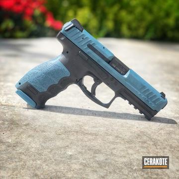 Cerakoted Two Toned Hkvp9 Tactical Handgun