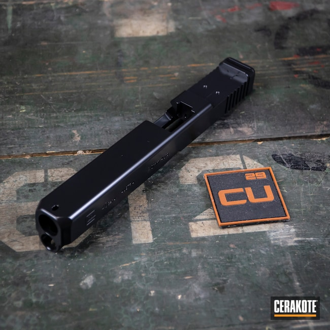 Glock 40 Handgun in Cerakote E-100 Blackout