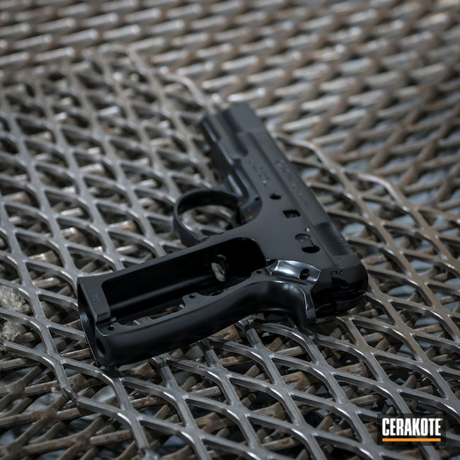 CZ 75 Handgun in E-100 Blackout