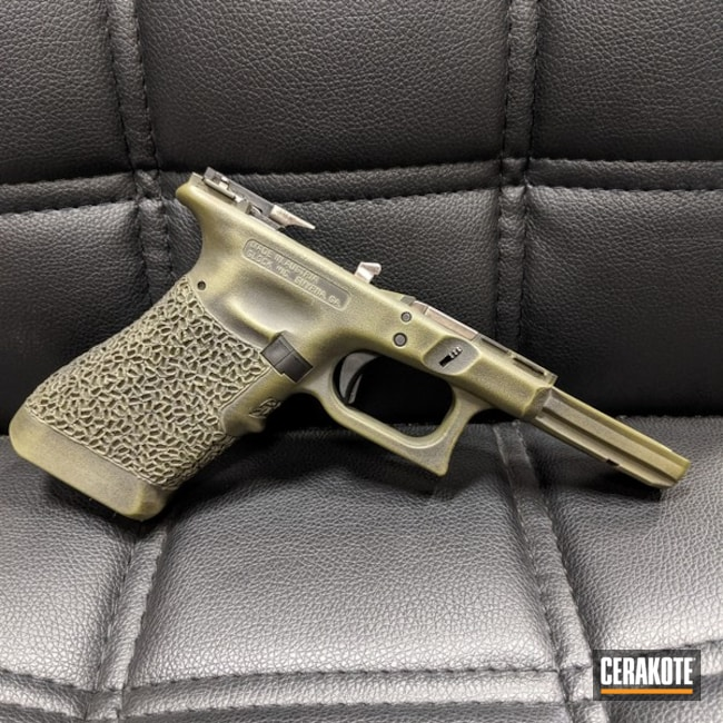 Distressed Glock 17 Frame