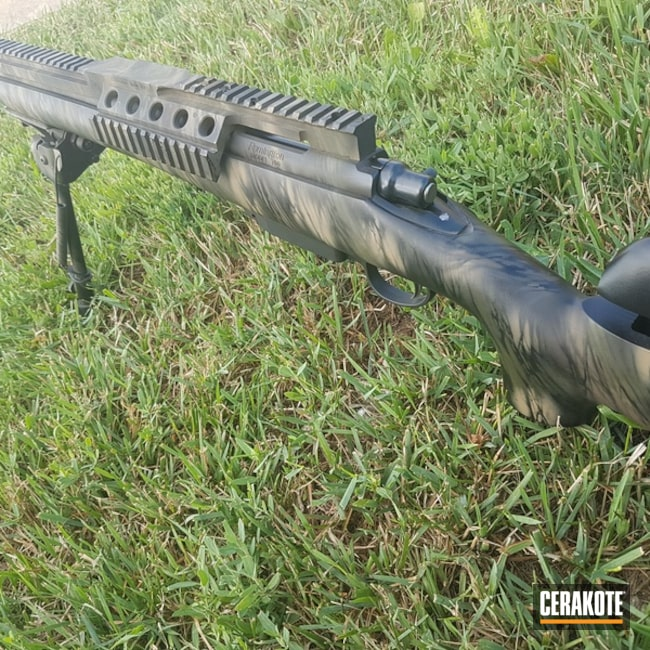 Remington 700 Bolt Action Rifle in a Custom Cerakote Finish