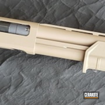 Cerakoted Remington 870 In H-267 And C-110