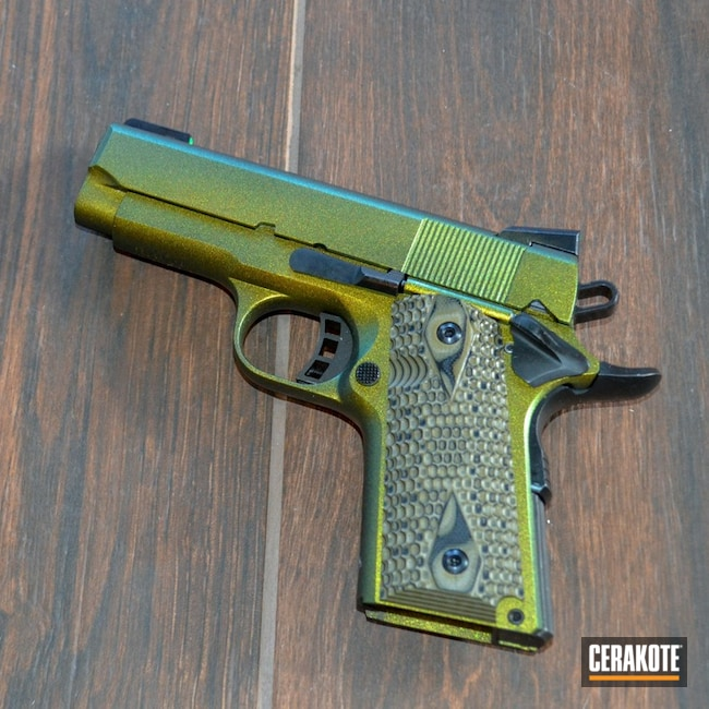 "Thumbnail image for project ""Cerakote Graphite Black and Gun Candy Caiman"""