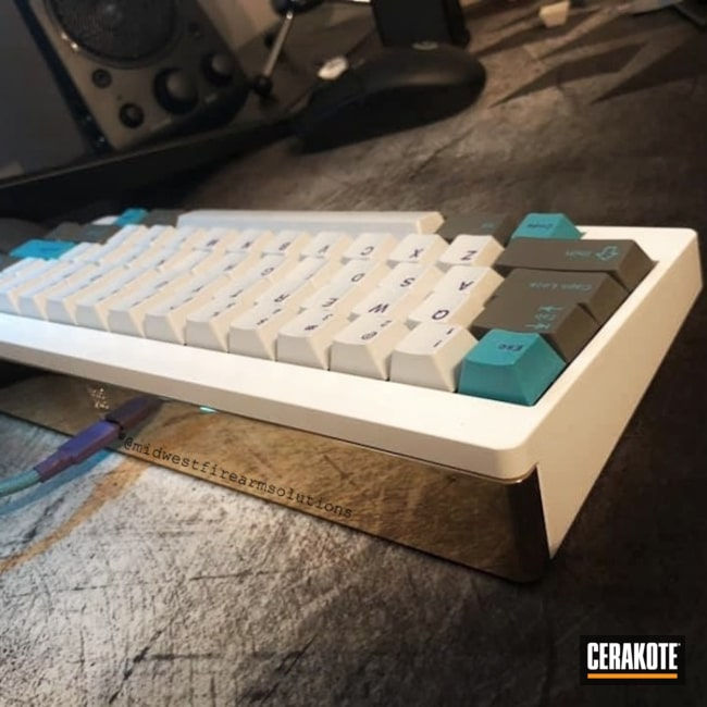 "Thumbnail image for project ""Mechanical Keyboard with a Stormtrooper White Body"""