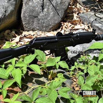 Cerakoted Sbr Ak-47 In Cerakote Graphite Black