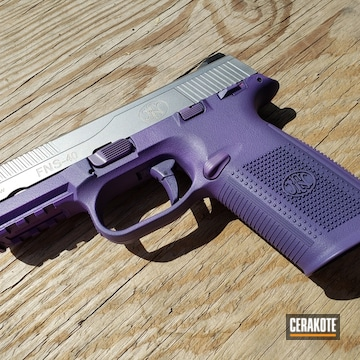 Cerakoted H-217 Bright Purple And H-147 Satin Mag
