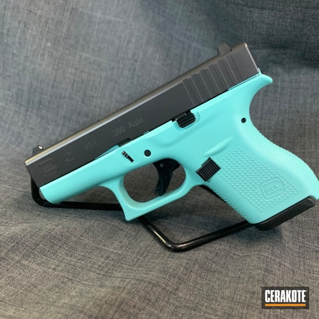 Glock 42 with H-175 Robin's Egg Blue