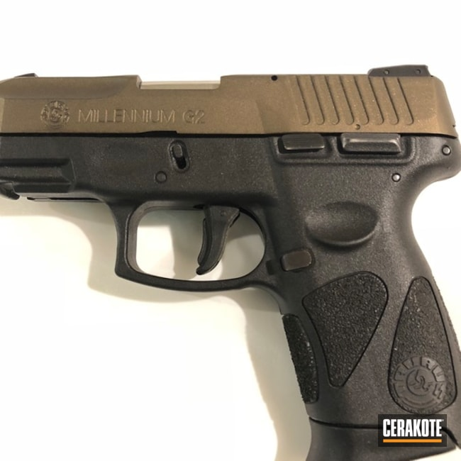 Mobile-friendly version of the 1st project picture. Taurus, Two Tone, Pistol, Midnight Bronze H-294Q, Taurus Millenium G2