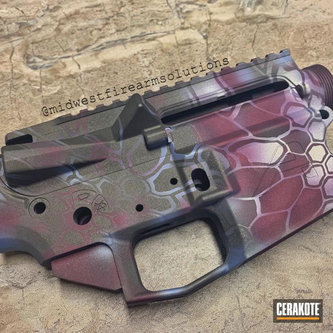 Cerakoted: Custom Mix,Upper / Lower,SPRINGFIELD® GREY H-304,Kryptek,New Color,MultiCam,Camo,Custom Camo,New Colors
