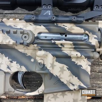 Cerakoted Aero Precision Riptile Camo