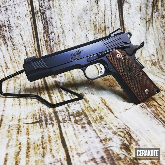 Kimber 1911 in an Elite Midnight Finish