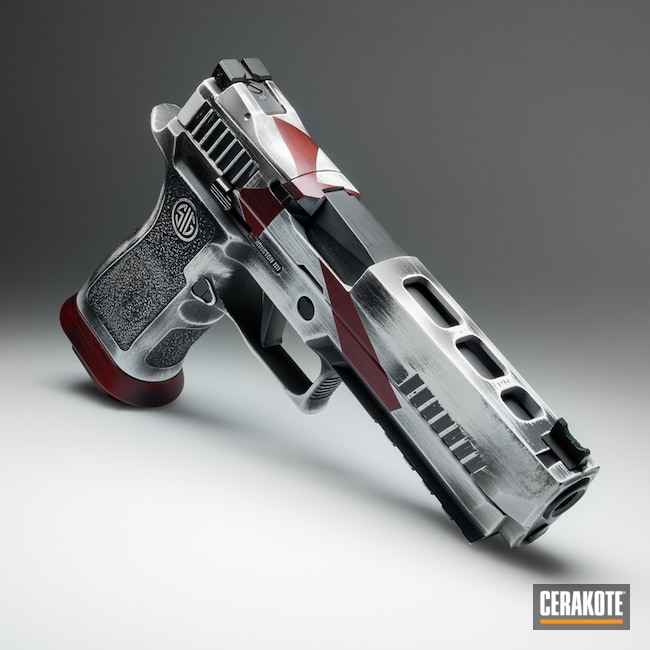 "Thumbnail image for project ""Sig Sauer P320 X5 in Cerakote Crusader Themed Finish"""