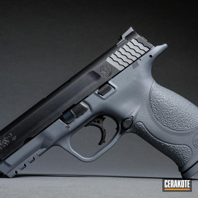Cerakoted: Stone Grey H-262,Two Tone,Smith & Wesson M&P,Pistol