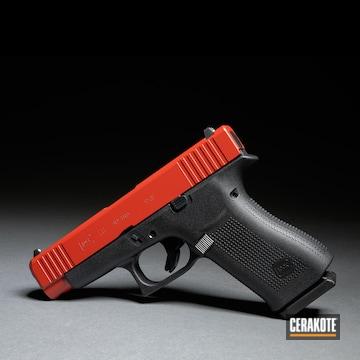 Cerakoted Glock 48 Slide Finished With H-221 Crimson