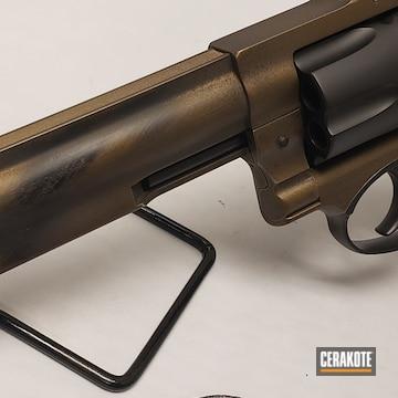 Cerakoted Distressed Ruger Revolver