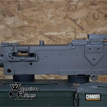 Cerakoted Restored 1919 Machine Gun