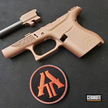 Cerakoted Custom Rose Gold Cerakote Finish