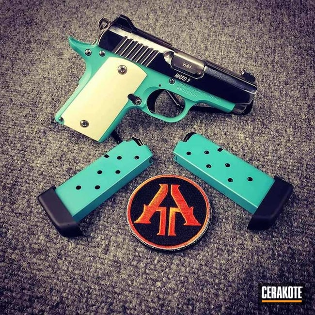 "Thumbnail image for project ""Kimber Micro 9 Handgun and Cerakote H-175"""