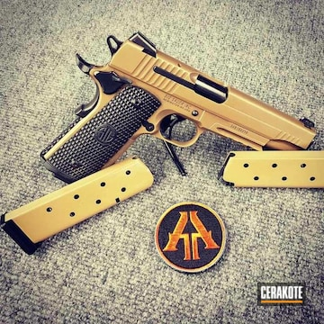 Cerakoted H-246 Desert Gold