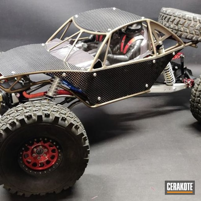 Cerakoted RC Car Parts