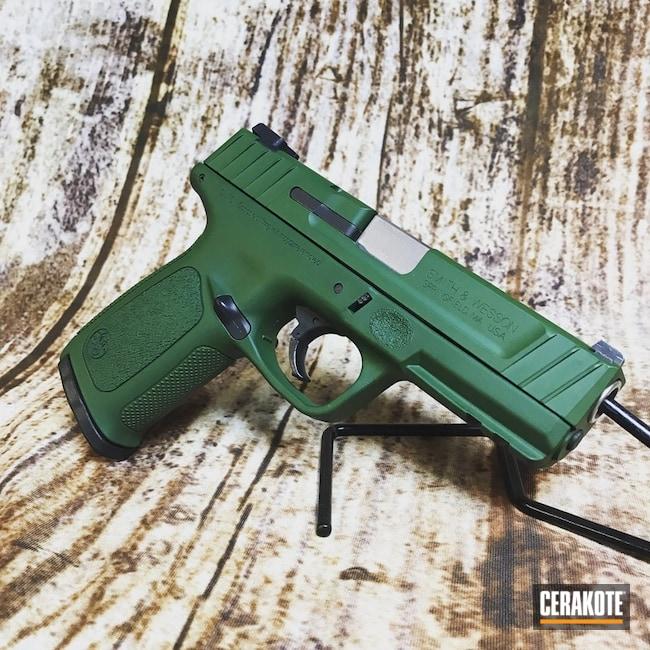 Cerakoted Smith & Wesson Handgun Cerakoted With H-400