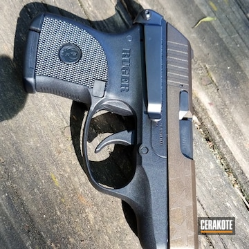 Cerakoted Ruger Lcp Finished With Cerakote H-146 And H-294